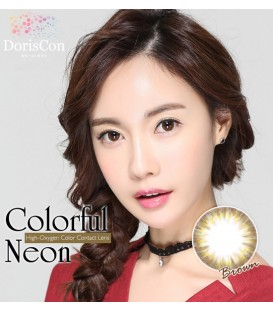DORISCON COLORFUL NEON BROWN