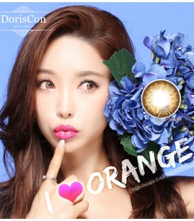 DORISCON I LOVE ORANGE BROWN