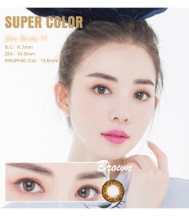 SUPER COLOR STAR BARBIE II BROWN